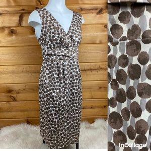 🍀 SALE Boden polkadot V-neck dress sleeveless 12